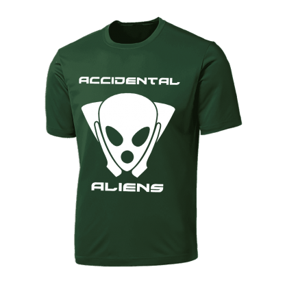 Accidental Aliens 2017 T Shirt Front
