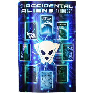 Accidental Aliens Anthology 2018 Hologram Cover