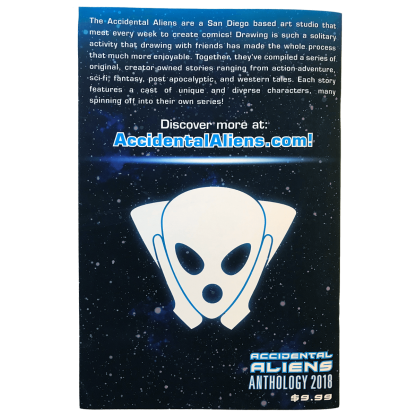 Accidental Aliens Anthology 2018 Back Cover