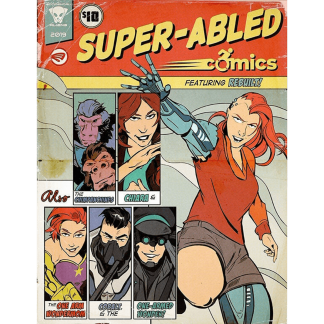 Super Abled Comics Anthology 2019 Paperback