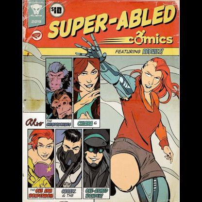 Super Abled Comics Anthology 2019 Paperback