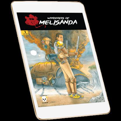 Wanderers of Melisanda Volume 1 Issue 1 Digital Download