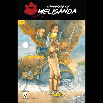 Wanderers of Melisanda Volume 1 Issue 1 Paperback