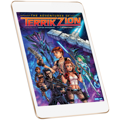 The Adventures of Terrik Zion Issue 1 Digital Download