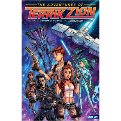 The Adventures of Terrik Zion Issue 1 Paperback